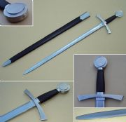 The Crusade Re-enactment Sword & Scabbard